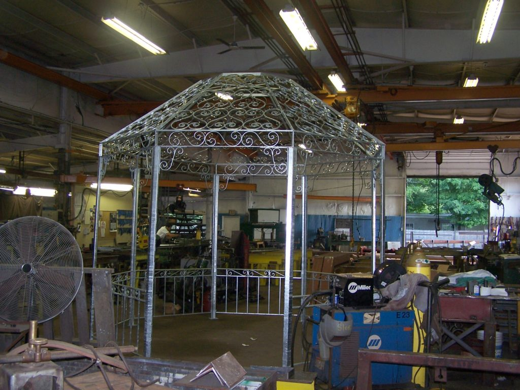 Residential Gazebo In Process