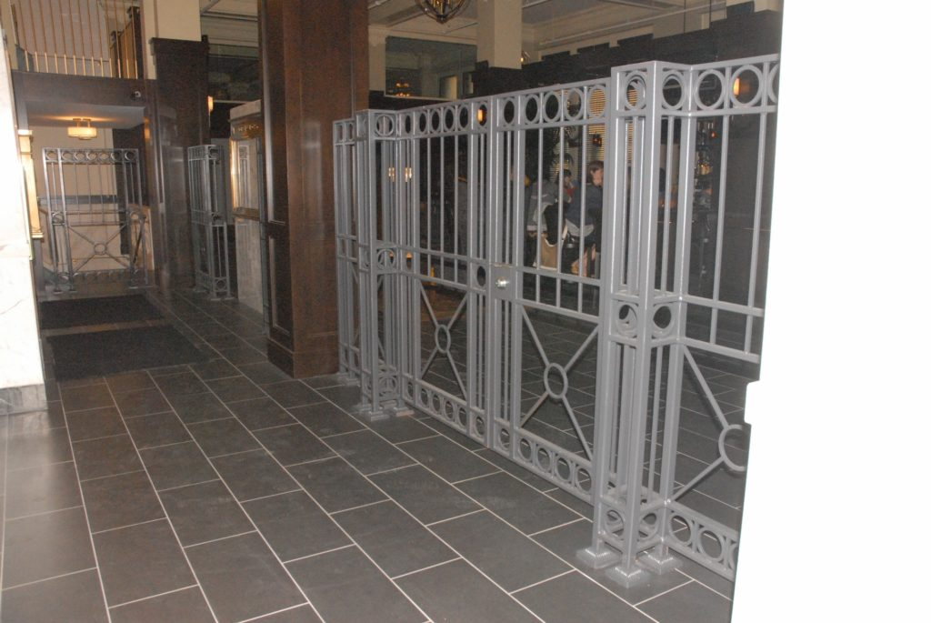 Interior Bank Gate Railings 2013