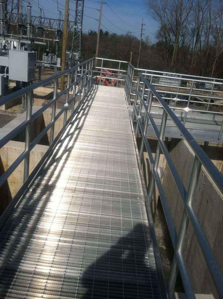Waste Water Treatment Plant Catwalk