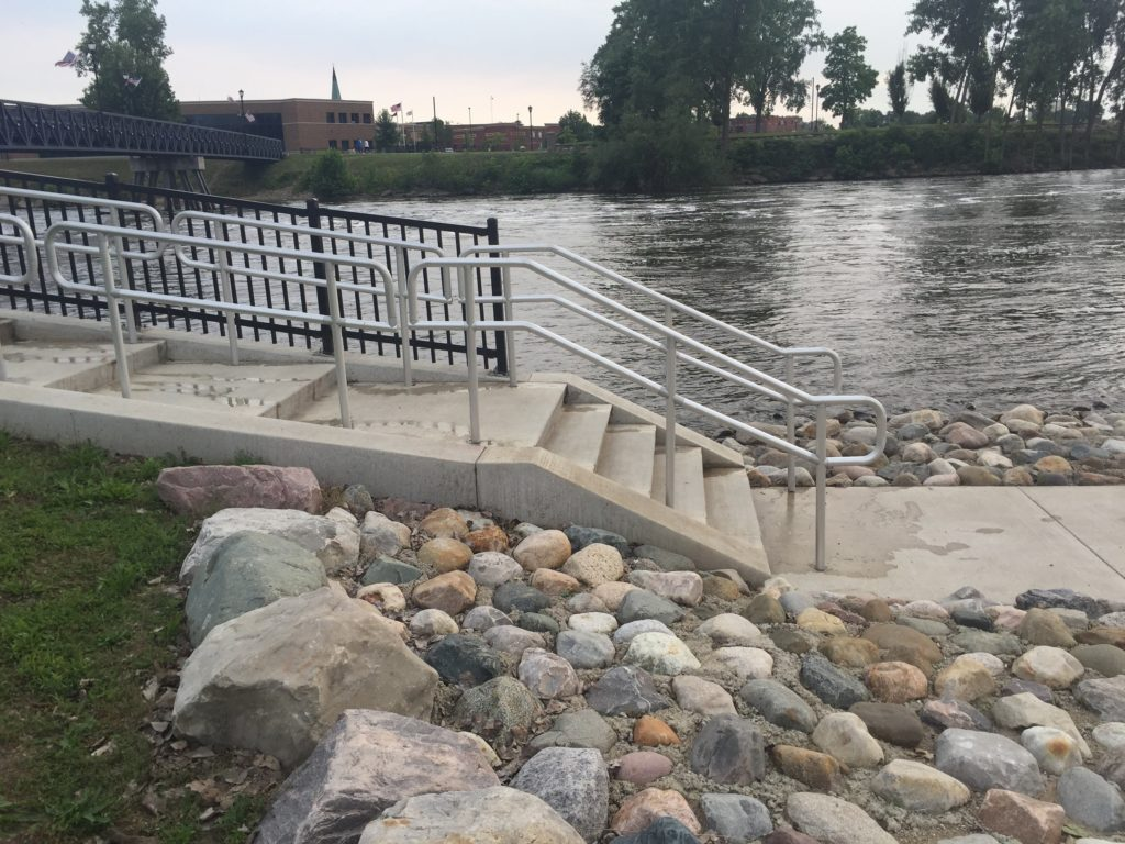 Mishawaka River Walk Railings 2015