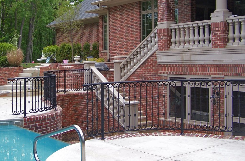 Curved Residential Railings 2013