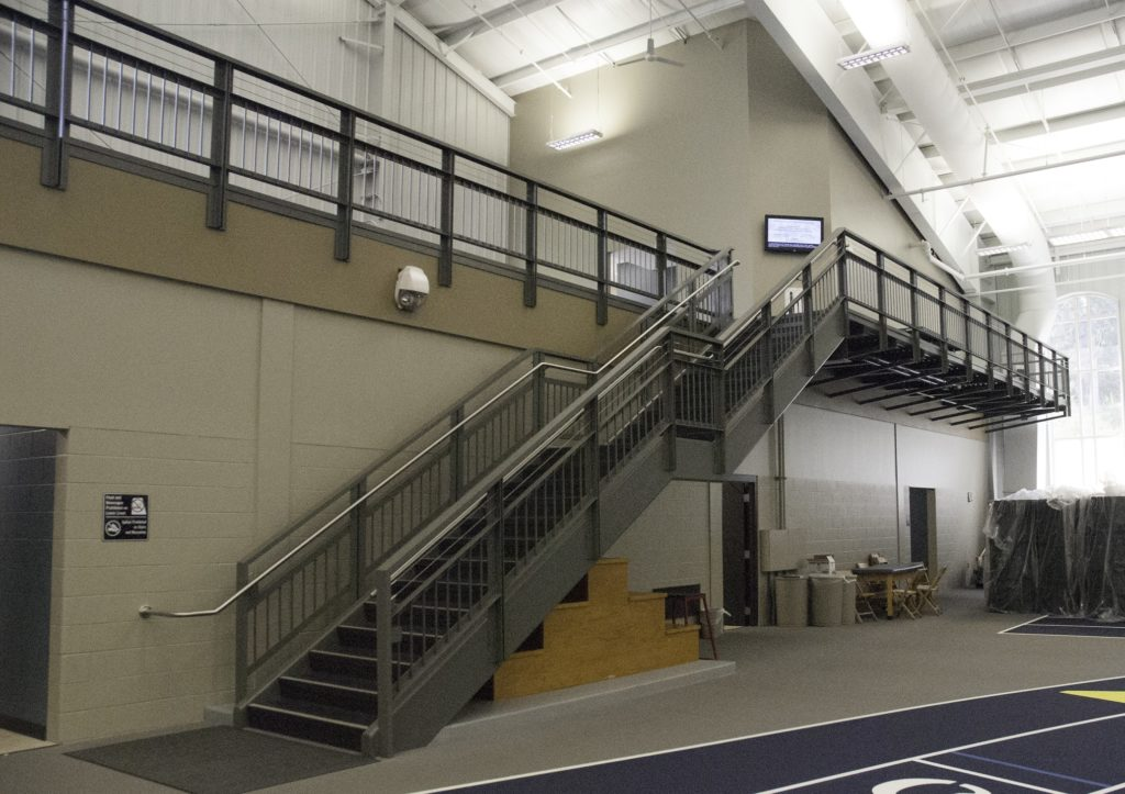 Hillsdale College Stairs and Railings 2013