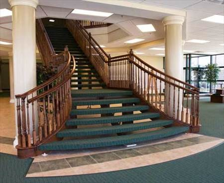 RV Museum Stairway