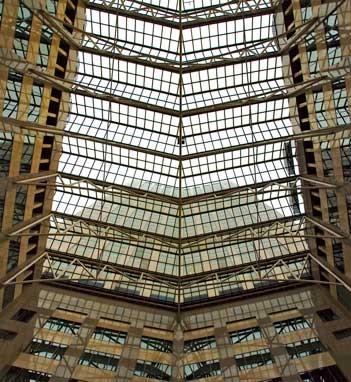 Cleveland Square Atrium 1984