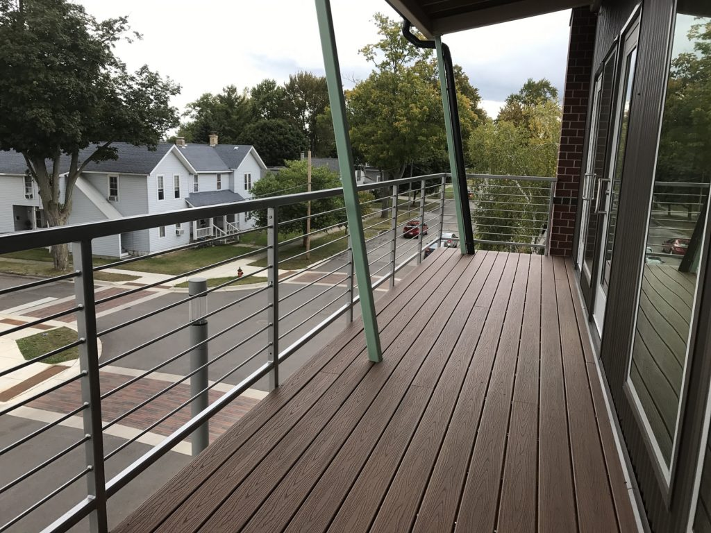 Moso Village Apartments Balcony and Railings 2015