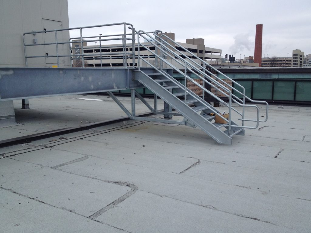 Roof Top Stairs Access