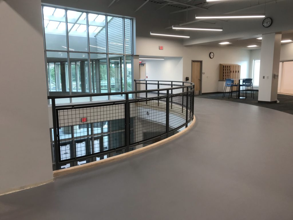 Elkhart Aquatics Center Railings 2019