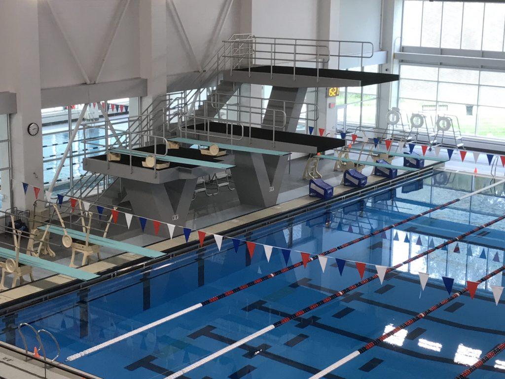Elkhart Aquatics Dive Platform Rails 2019