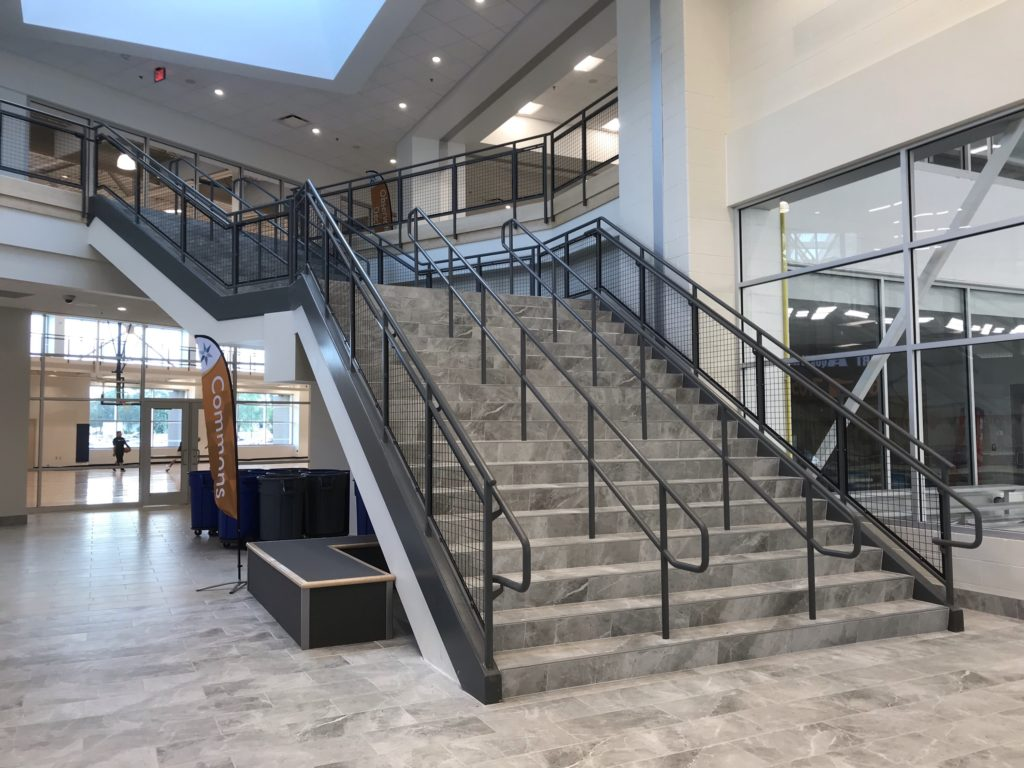 Elkhart Aquatics Stair and Railings 2018