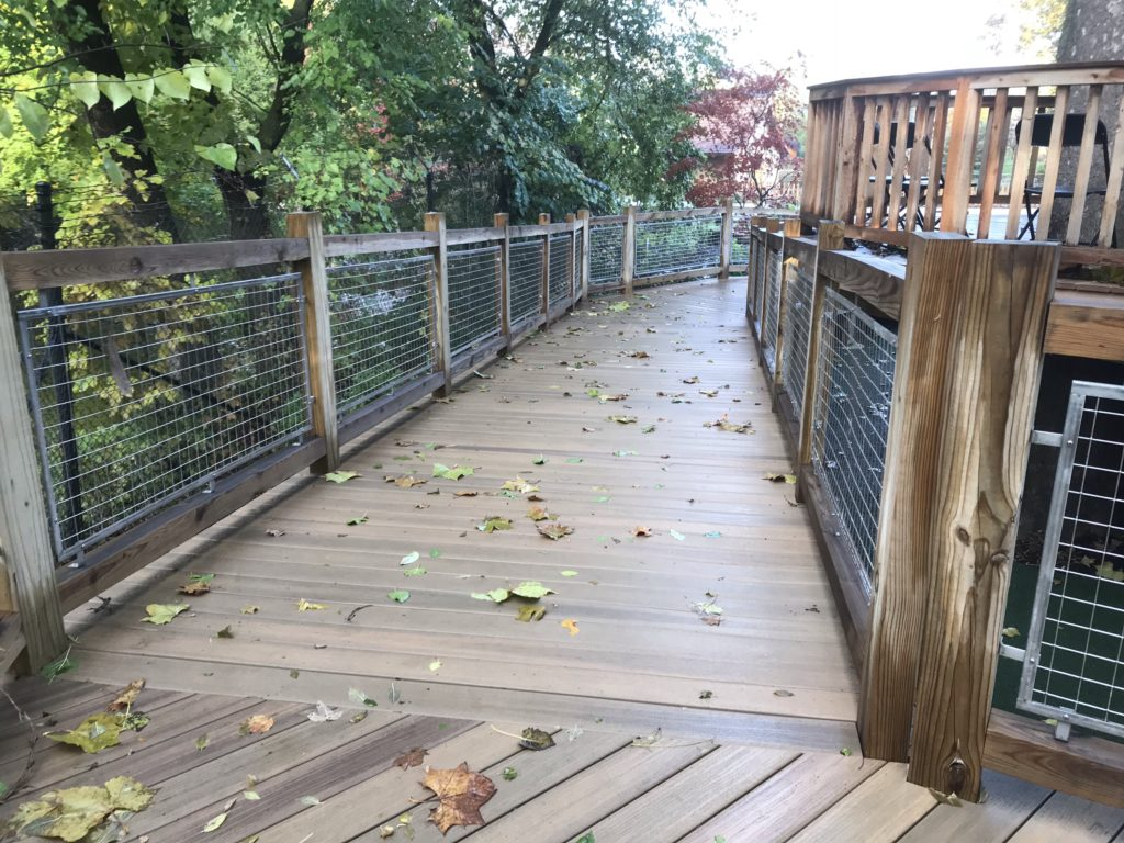 Elkhart Children's Garden Mesh Railing Panels 2018