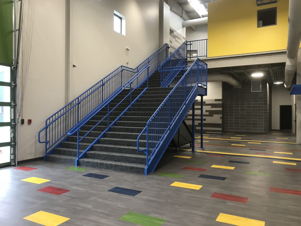 Ethos Science Center Stairs and Railings 2017