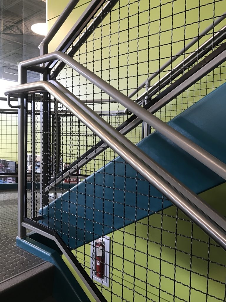 Beacon Health and Fitness Center Railings 2017