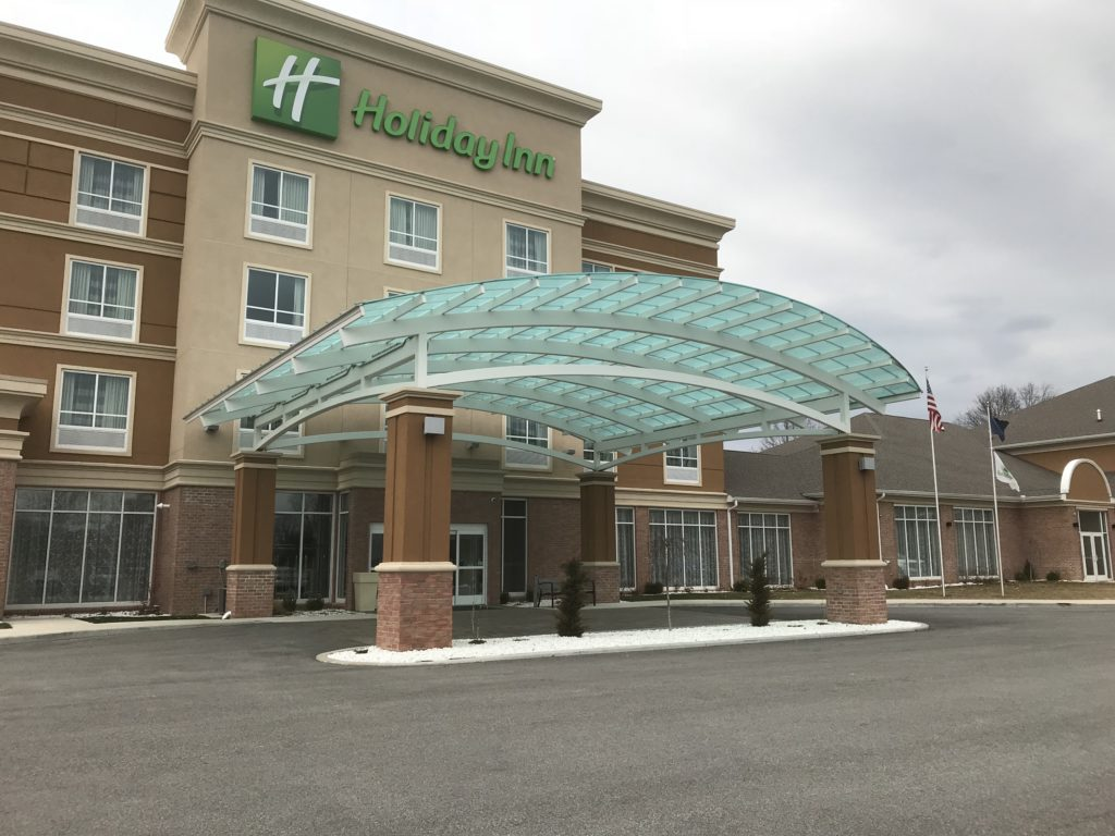 Holiday Inn Mishawaka Canopy 2016