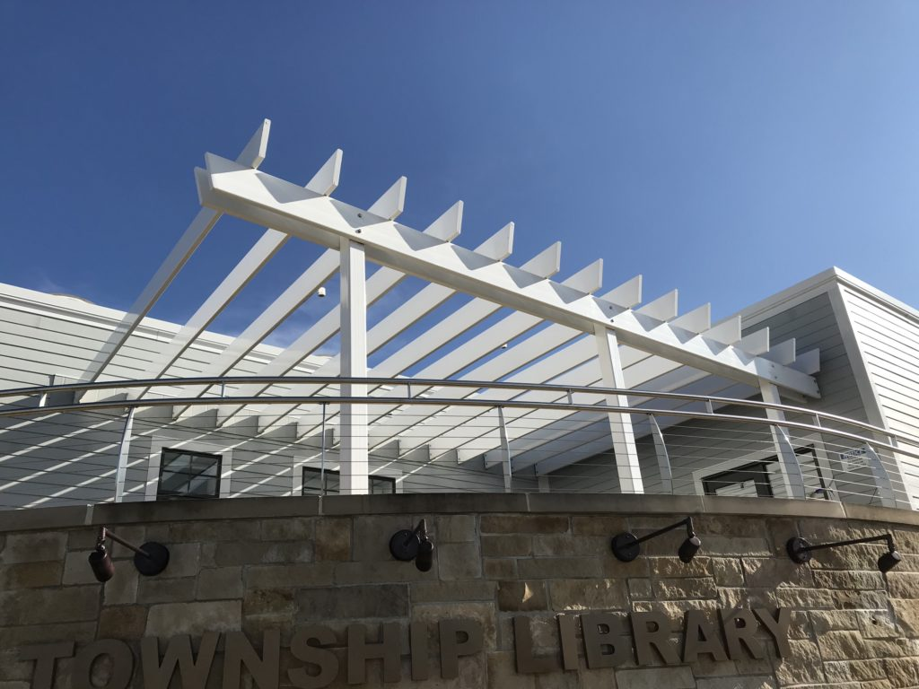 New Buffalo Twp. Library Railings 2016