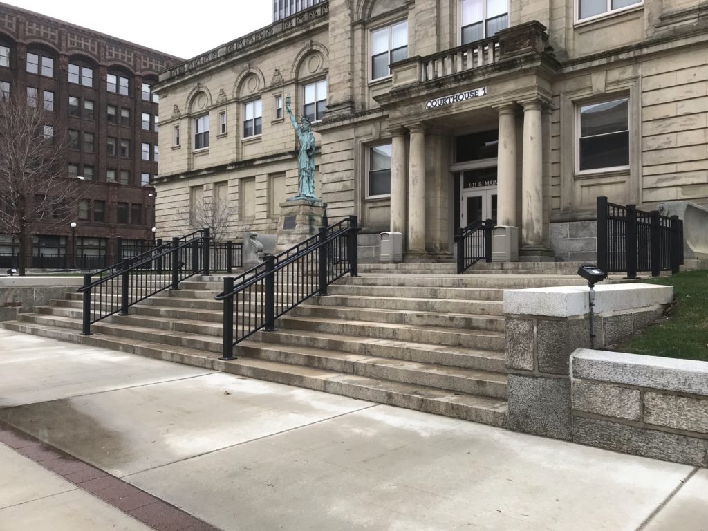 South Bend Courthouse Railings 2016